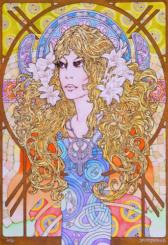 Aille The Fair 1975 by Jim FitzPatrick - Green Gallery