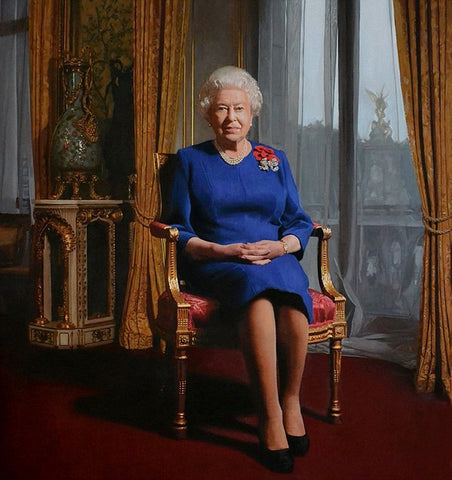 HRH Queen Elizabeth II - Green Gallery