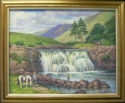 Asleagh Falls, Co. Mayo - Green Gallery