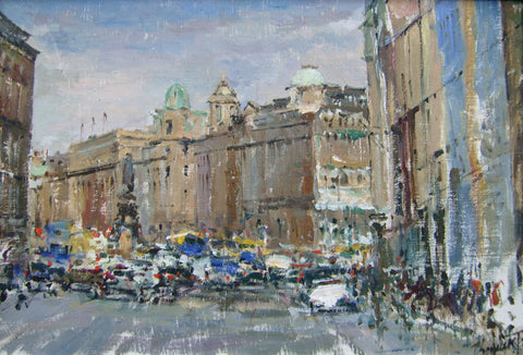 O'Connell St from Westmoreland St by Tetyana Tsaryk - Green Gallery