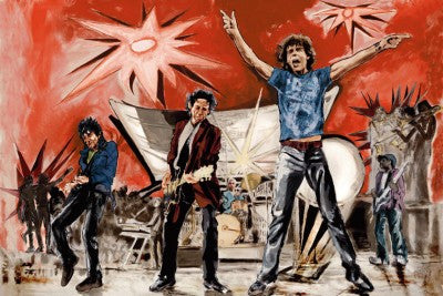 Big Bang Red by Ronnie Wood - Green Gallery