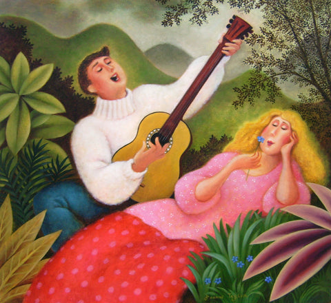 Garden  Serenade - Green Gallery