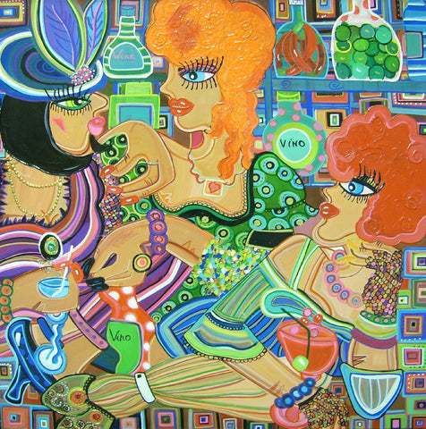 Ladies Night Out by Lucia Cullinane