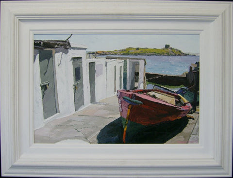 Coliemore Harbour by Stephen Cullen - Green Gallery