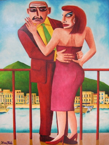Couple In Marbella by Graham Knuttel - Green Gallery