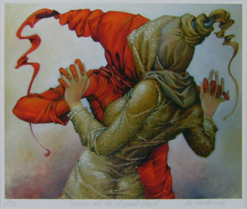 Dance Of The Lizard People by Andrius Kovelinas - Green Gallery