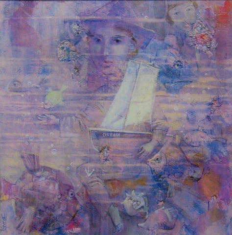 Dreams In Lilac by Oksana Popova - Green Gallery