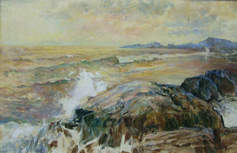 A Western Seascape by Tetyana Tsaryk - Green Gallery