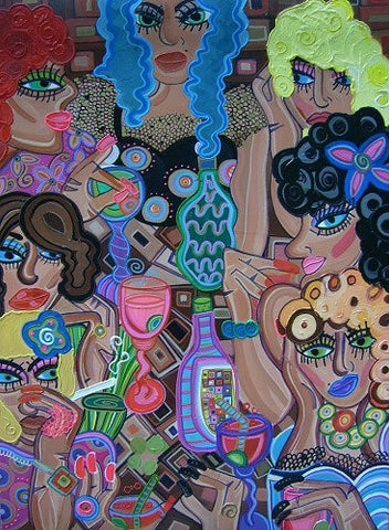 Girls Night Out by Lucia Cullinane