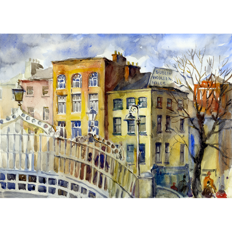 The Ha'penny Bridge - Green Gallery