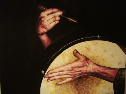 Hands On Bodhran - Green Gallery