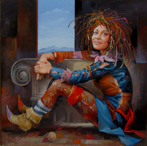 'The Happy Jester' by Andrius Kovelinas - Green Gallery