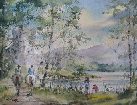 Horse Riders. Ross Castle - Green Gallery