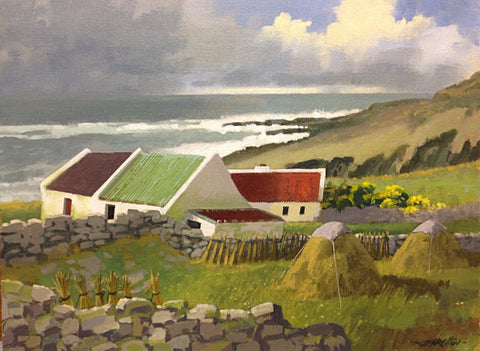 Break In The Day. Lough Swilly. Donegal by John F. Skelton - Green Gallery