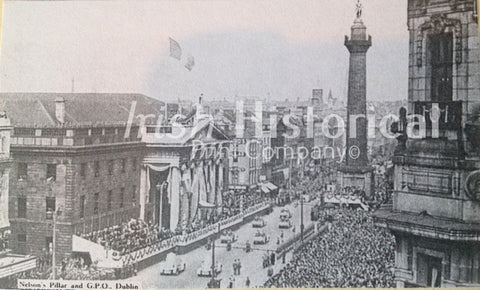 Nelson's Pillar and G.P.O, Easter Parade - Green Gallery