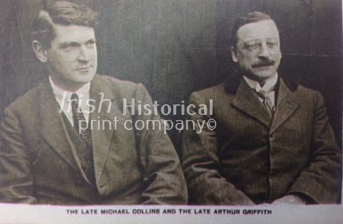 Michael Collins and Arthur Griffith - Green Gallery