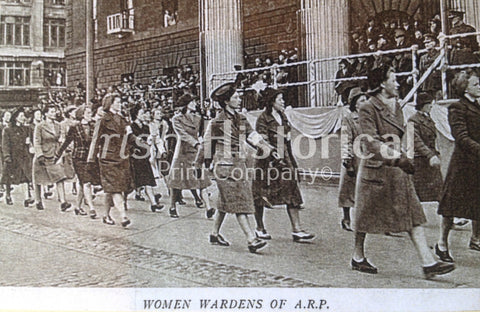 Women Wardens of A.R.P - Green Gallery
