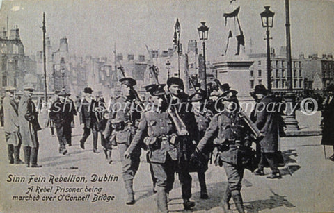 A Rebel Prisoner Being Marched over O'Connell Bridge - Green Gallery