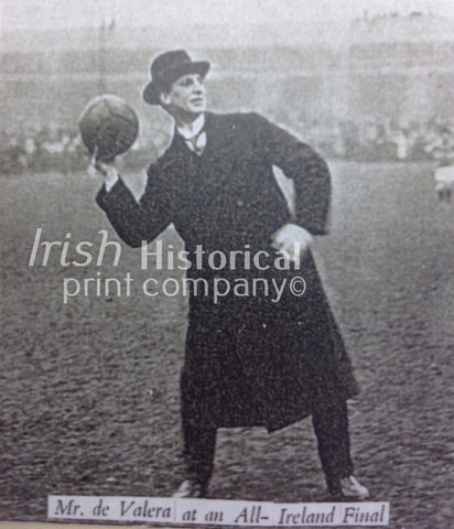 Mr. de Valera at an All-Ireland Final - Green Gallery