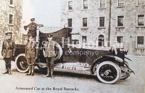 Armoured Car at the Royal Barracks - Green Gallery