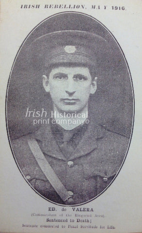 Eamon de Valera Commandant of the Ringsend Area - Green Gallery