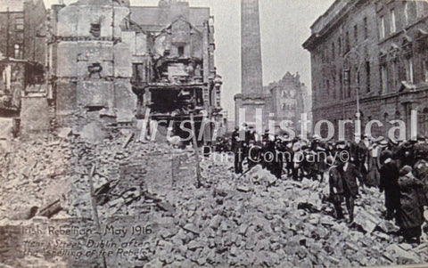 Henry Street Dublin after the Shelling of the Rebels - Green Gallery