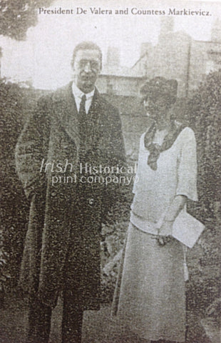 President de Valera and Countess Markievicz - Green Gallery