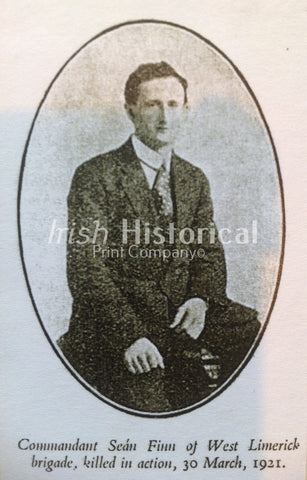 Commandant Seán Finn of West Limerick Brigade, Killed in Action,30 March, 1921 - Green Gallery