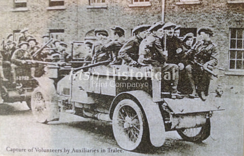 Capture of Volunteers by Auxiliaries in Tralee - Green Gallery