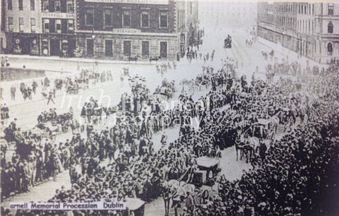 Parnell Memorial Procession, Dublin - Green Gallery