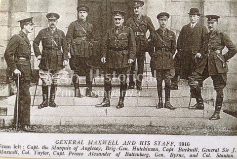 General Maxwell and His Staff, 1916 - Green Gallery