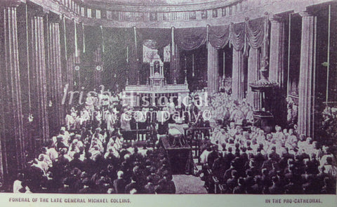 Funeral of Michael Collins - In the Pro-Cathedral