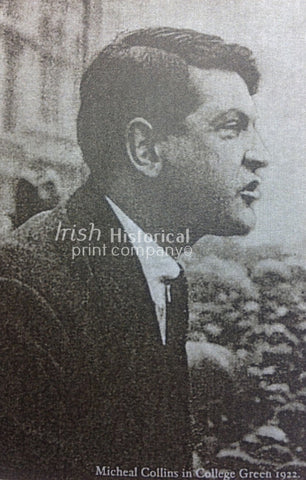 Michael Collins in College Green, 1922 - Green Gallery
