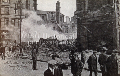 Sackville Streets in Ruins