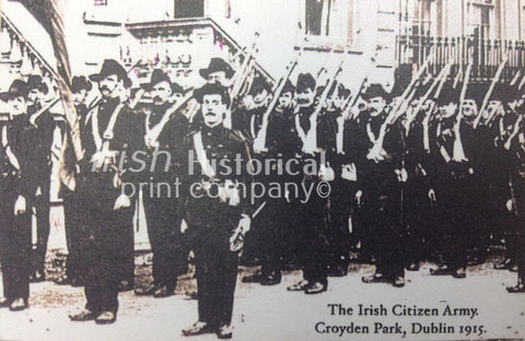 The Irish Citizen Army. Croydon Park, Dublin 1915 - Green Gallery