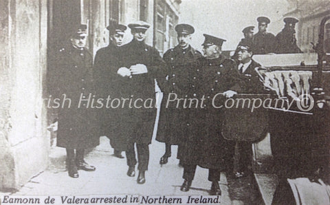 Eamon de Valera Arrested in Northern Ireland - Green Gallery