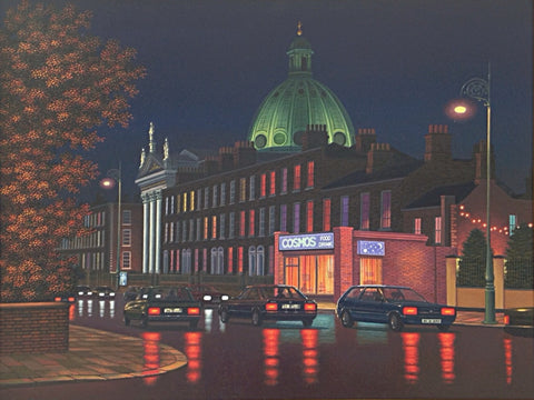 Evening Rathmines(an interpretation)