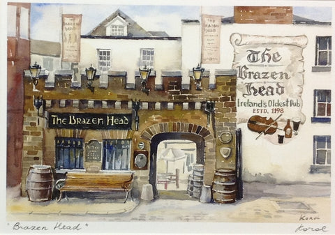 The Brazen Head - Green Gallery