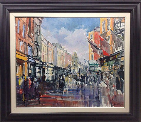 At Weirs. Grafton Street by Tetyana Tsaryk - Green Gallery