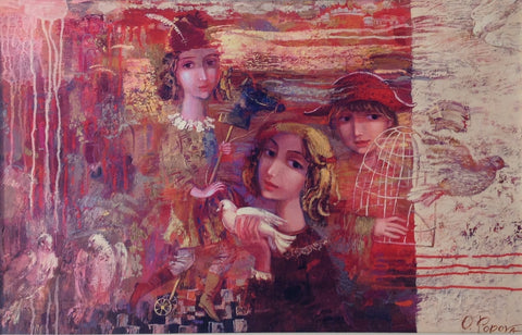 Dreamers by Oksana Popova - Green Gallery