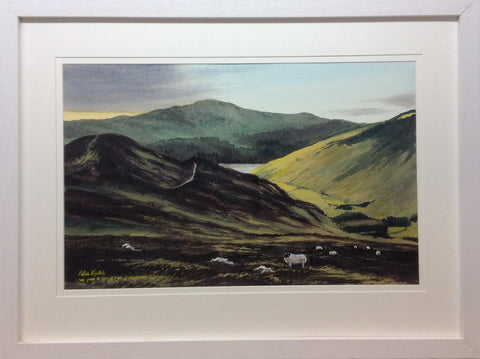 The Path To Lough Dan From Laragh , Co Wicklow by Peter Knuttel - Green Gallery