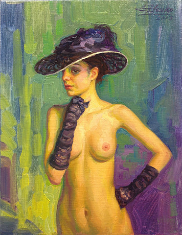 The Purple Hat - Green Gallery