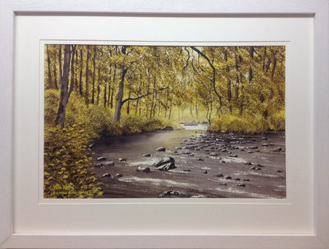 Avonmore River, Laragh, Co. Wicklow by Peter Knuttel - Green Gallery
