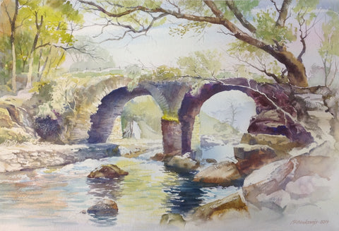 The Old Stone Bridge - Green Gallery