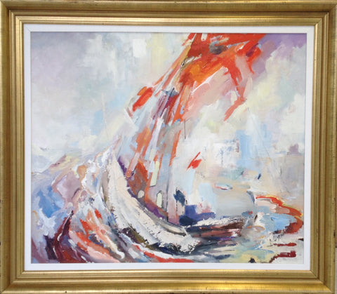 Yachts In A Swell by Andriy Ozernyy - Green Gallery