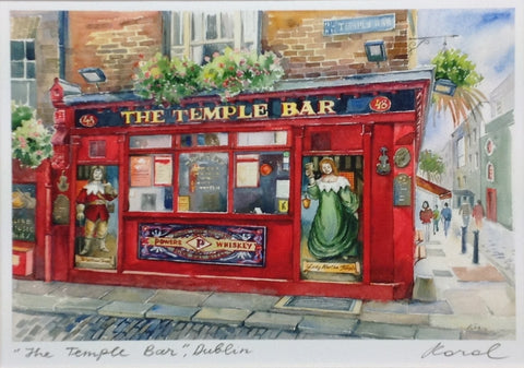 The Temple Bar II - Green Gallery