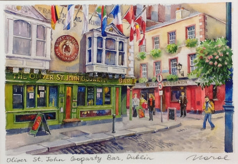 Oliver St. John Gogarty Bar, Dublin - Green Gallery