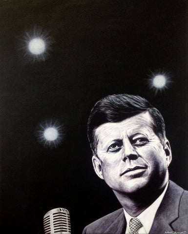 JFK by Mark Baker - Green Gallery