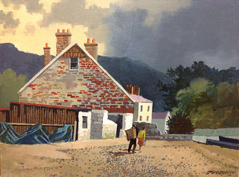 The Old Corner. Kinsale Co. Cork by John F. Skelton - Green Gallery