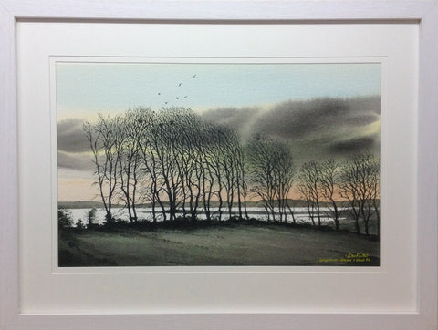 Co. Westmeath. Glassan and Lough Rea by Peter Knuttel - Green Gallery